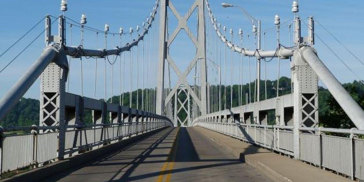 Simon Kenton Memorial Bridge closed for repairs