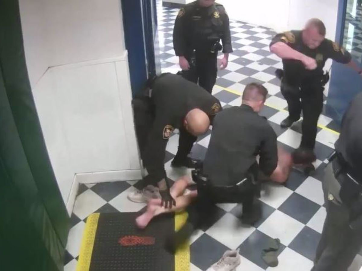 Hamilton County deputy fired for kicking handcuffed inmate in the head, sheriff says