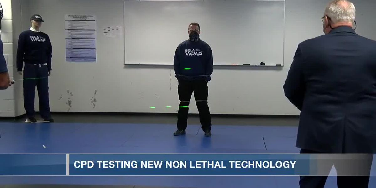 CPD testing new non-lethal technology