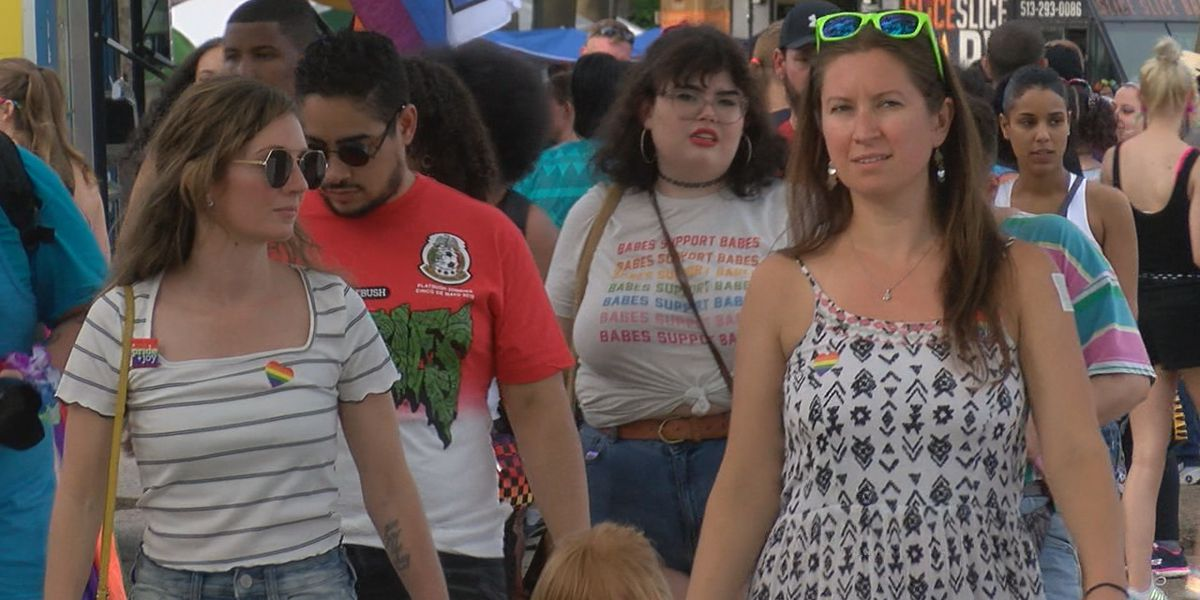 The sights and sounds of the 46th Pride Festival in Cincinnati