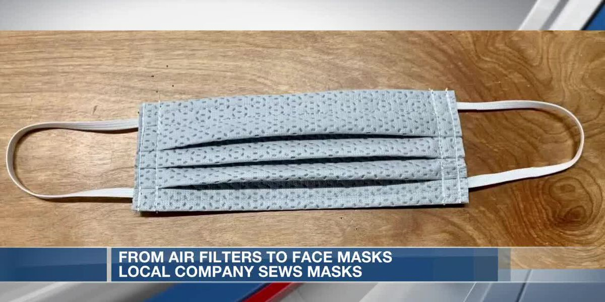 From air filters to face masks, local company sews masks