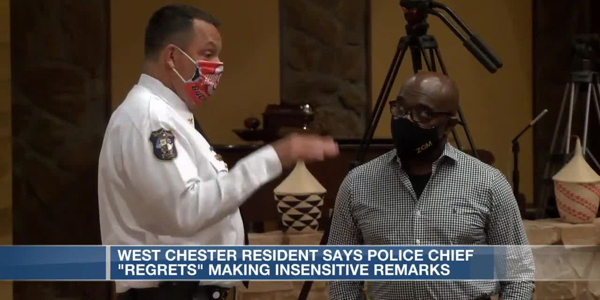 West Chester resident says police chief 'regrets' making insensitive remarks