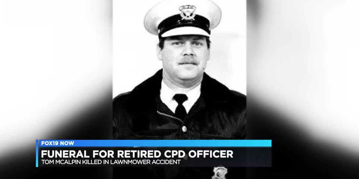 Funeral for retired CPD officer
