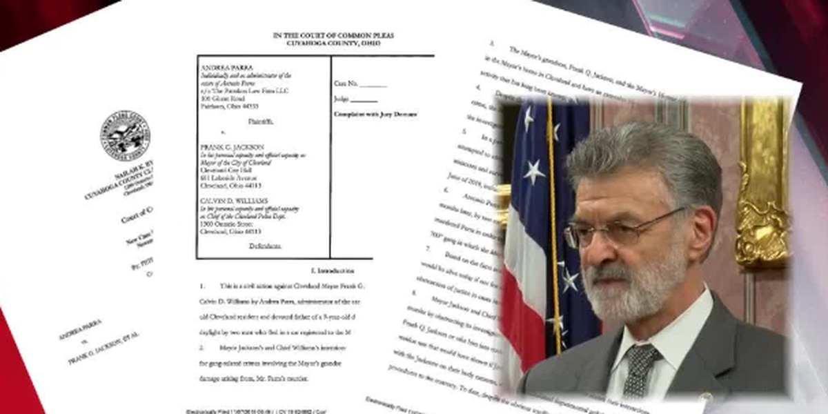 Lawsuit alleges Mayor Frank Jackson's grandsons are running a gang out of his Cleveland home
