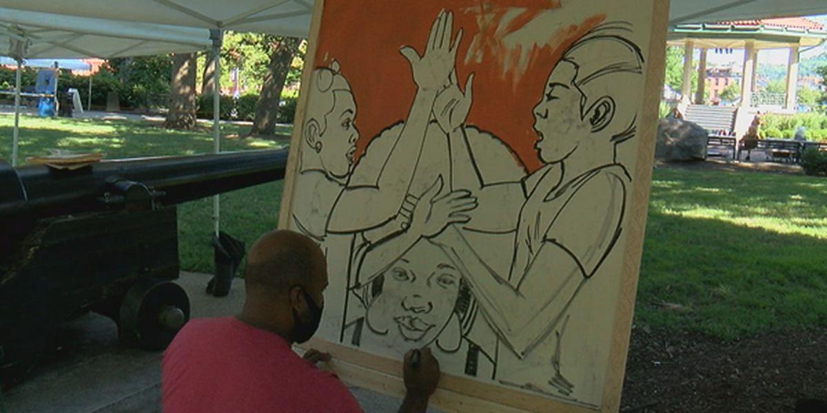 Cincinnati Music Festival, P&G, Artswave launch outdoor museum at Washington Park