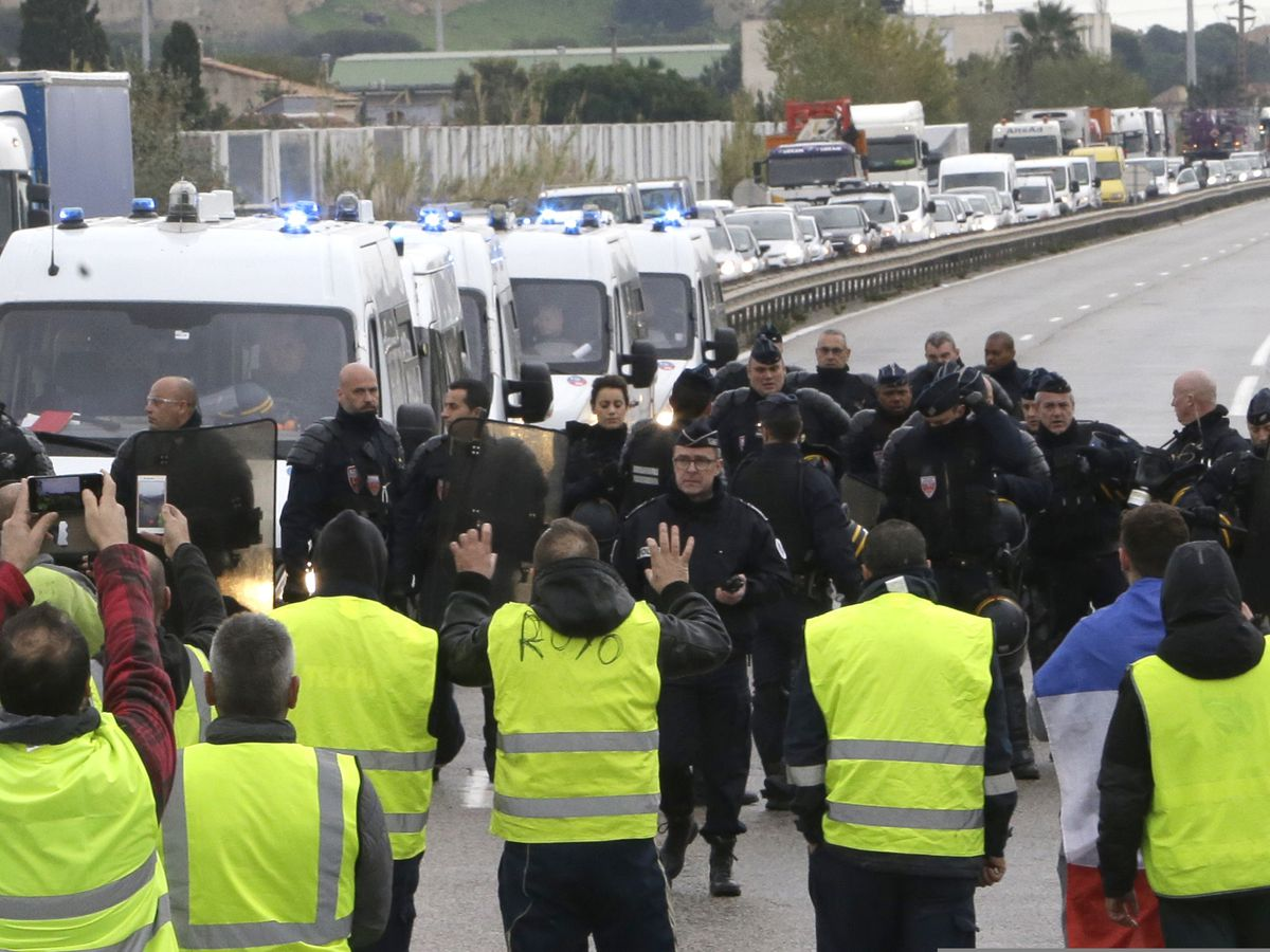 Second death in French protests over fuel tax hikes