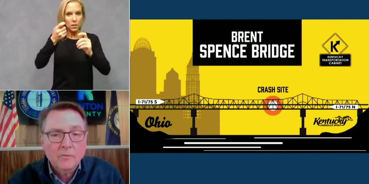 Brent Spence Bridge update from Gov. Beshear, KYTC official