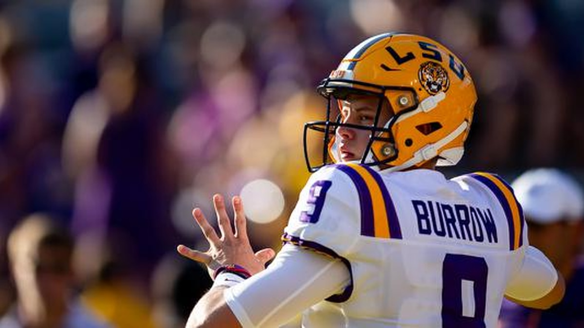 If drafted, Burrow says he will play for the Bengals