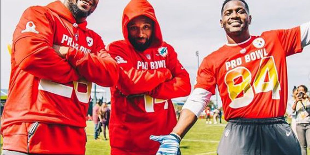 Jarvis Landry attempting to recruit Steelers' Antonio Brown and Le'Veon Bell to Cleveland Browns