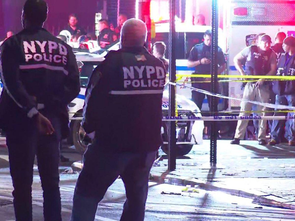 Police: NYPD officer stabbed in ambush; attacker shot