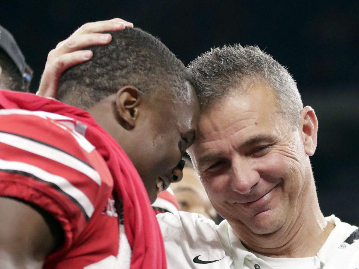 Ohio State sends Urban Meyer out with Rose Bowl win