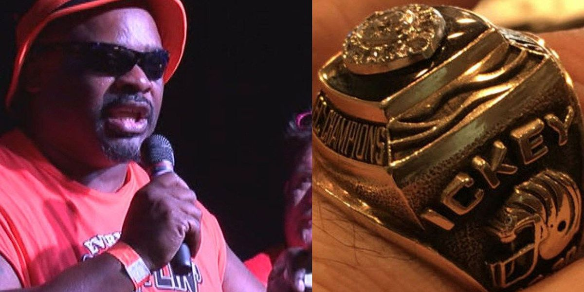 Ickey Woods' stolen AFC Championship ring ends up on eBay