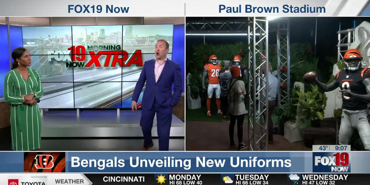 Coffee Talk - First look at Bengals new uniforms