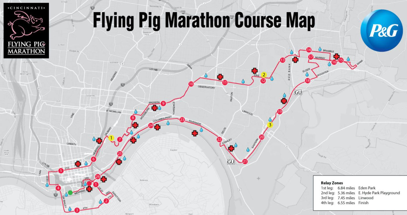 19th annual flying pig marathon gets underway