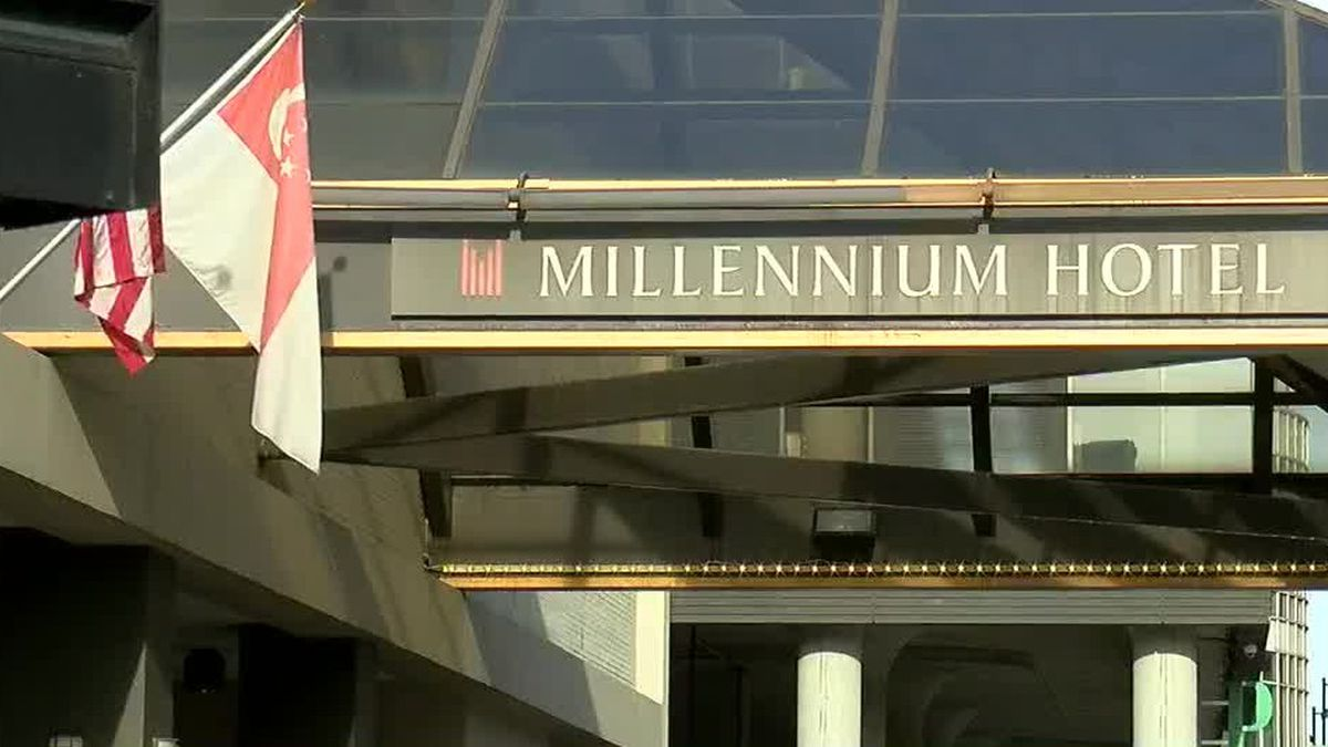 Checkout time for Millennium Hotel