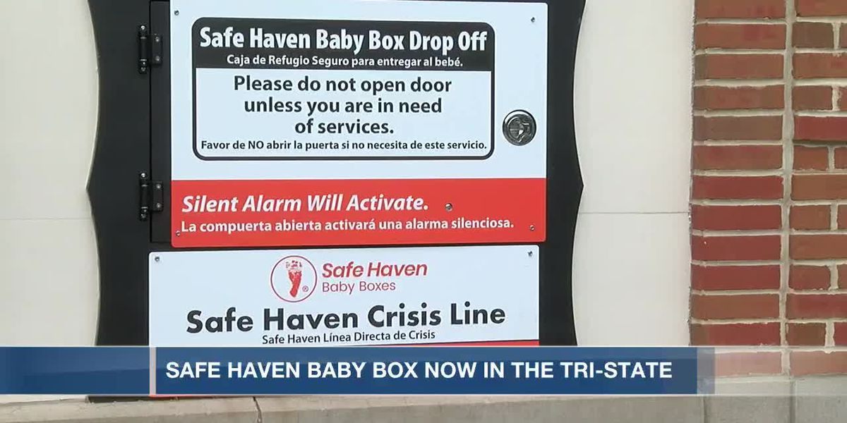 Safe Haven Baby Box now in the Tri-State