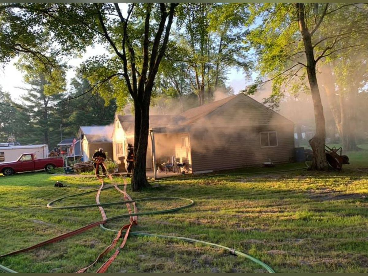 Goshen house a total loss in early morning fire, Fire Captain says