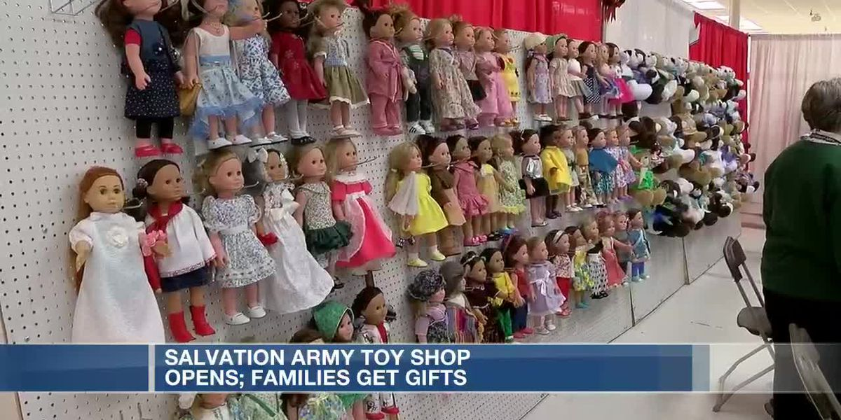 Salvation Army Toy Shop opens for the holidays