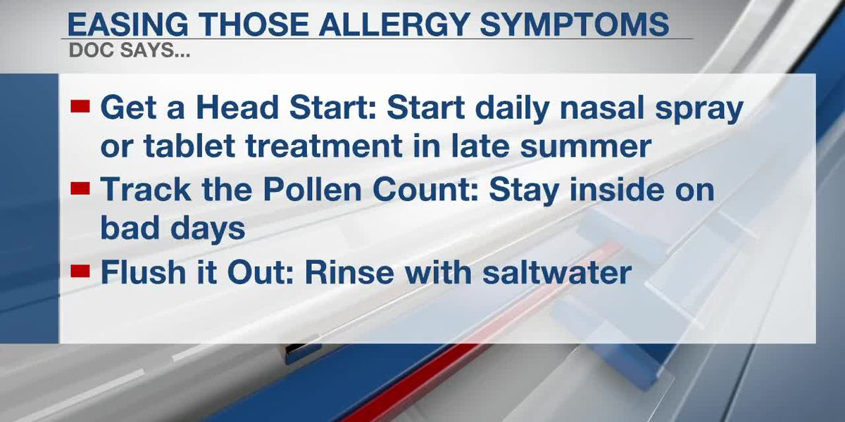 Fall is coming... and so is allergy season