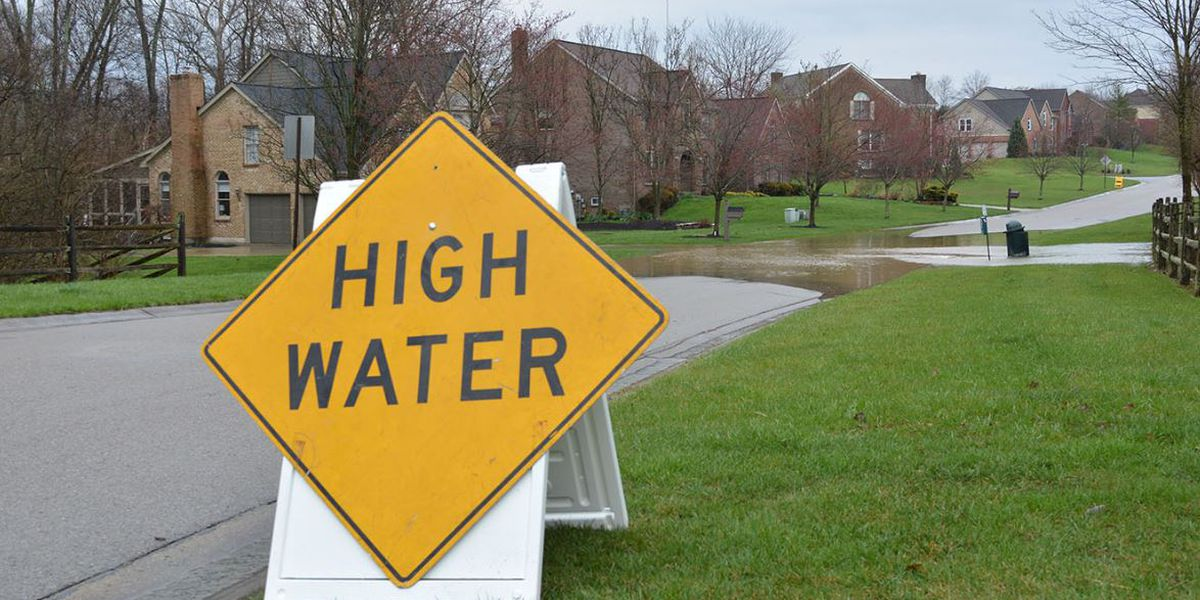 LIST: Tri-State road closures due to flooding