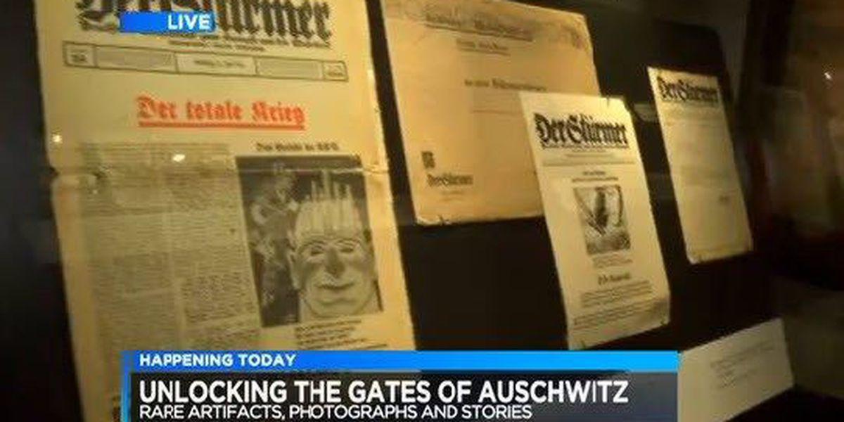 Auschwitz exhibit opens this weekend at Freedom Center