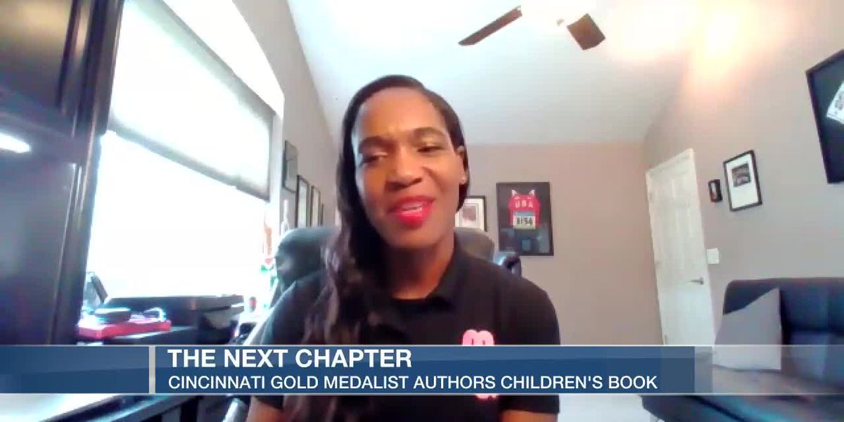 Olympian goes from gold medalist to children's book author