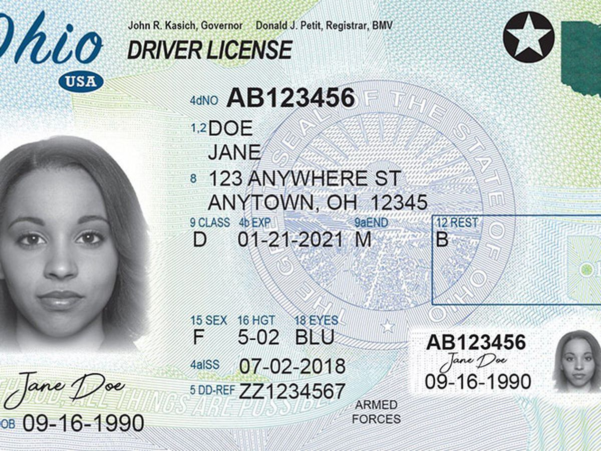 Ohio's grace period to renew an expired driver's license or registration extended to July 2021