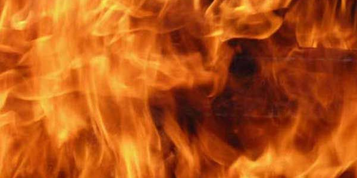 Fire, explosion sends man to hospital with severe burns