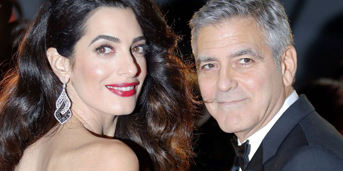 George Clooney's father: 'Gorgeous' new twins look like their dad