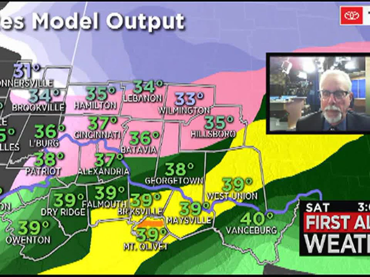 Wet-to-icy mix to arrive in Tri-State before noon Saturday