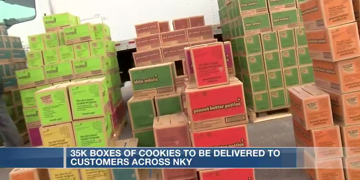Girl Scouts of Kentucky's Wilderness Road delivers 35K boxes of cookies to customers