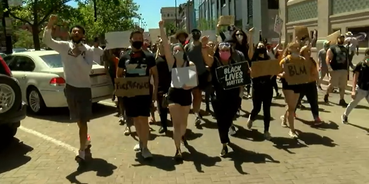 WATCH LIVE: UC students organize 'peaceful protest'
