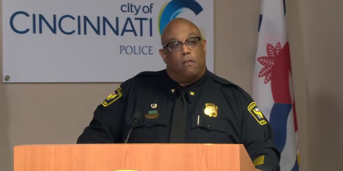 Cincinnati Police Chief Eliot Isaac gives update on Tuesday's officer-involved shooting
