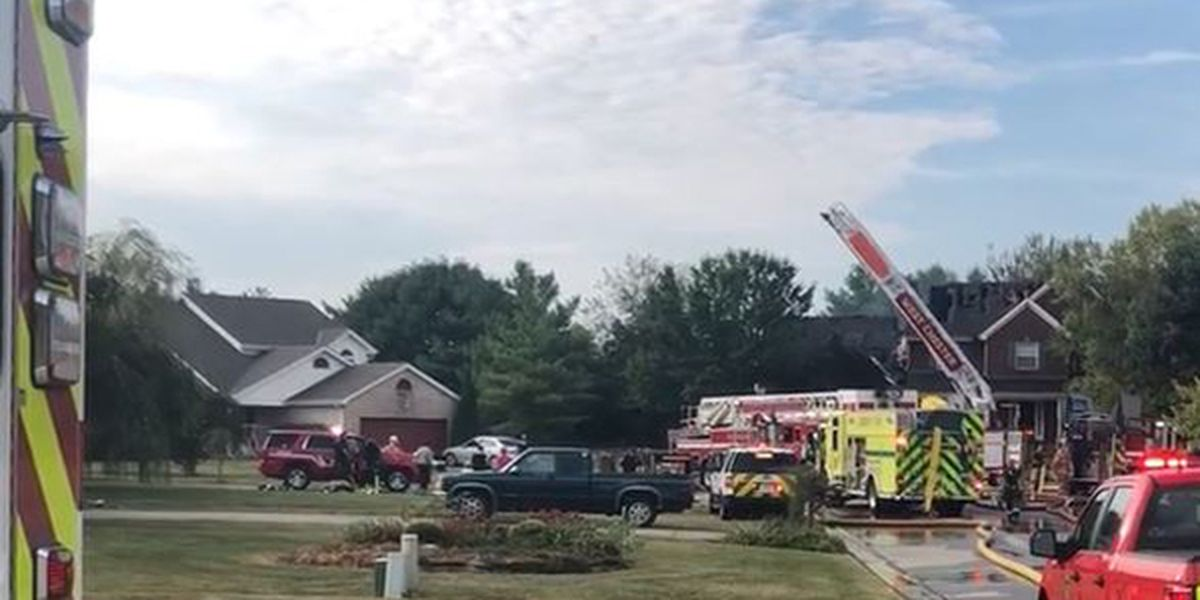 2 firefighters injured in Mason home fire