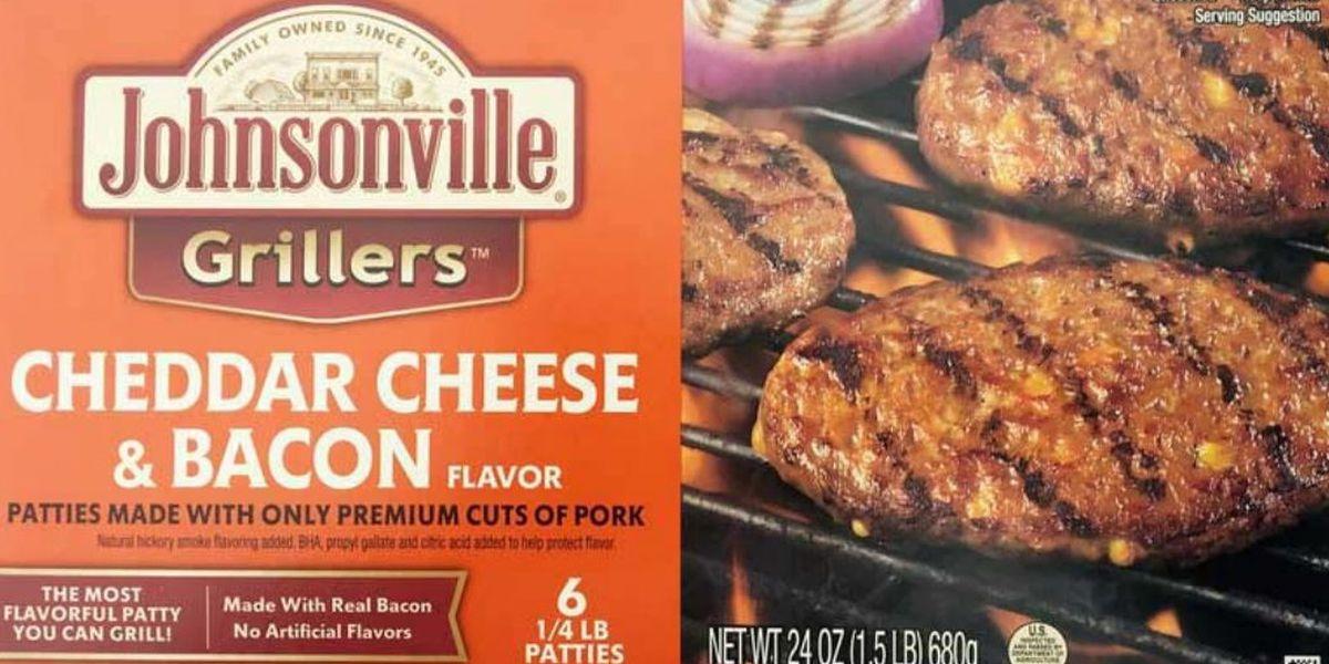 Johnsonville recalls more than 48,000 lbs. of frozen pork patties