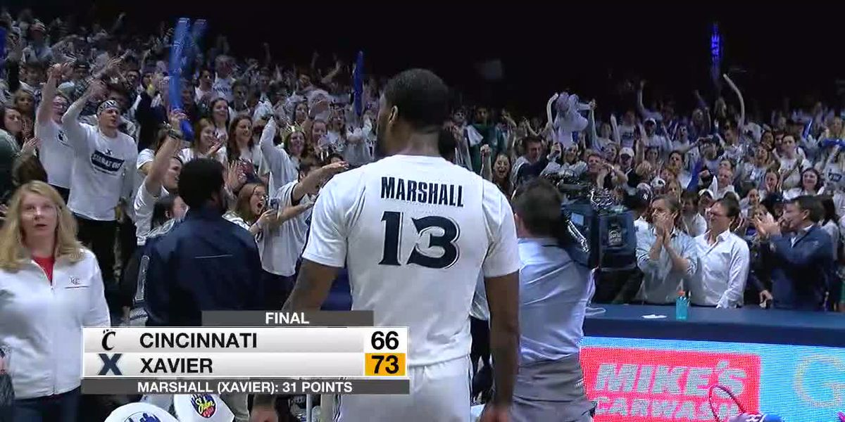 Marshall carries XU to Shootout win