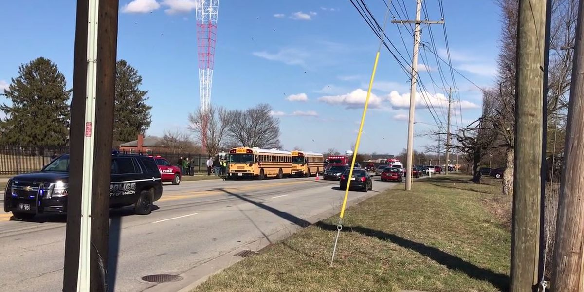 No injuries reported in accident involving 2 Mason City Schools buses