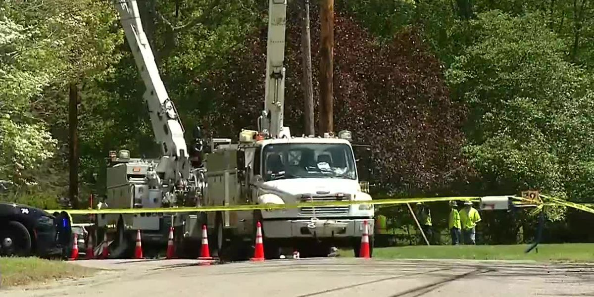 Massachusetts worker electrocuted by power lines after falling from bucket truck