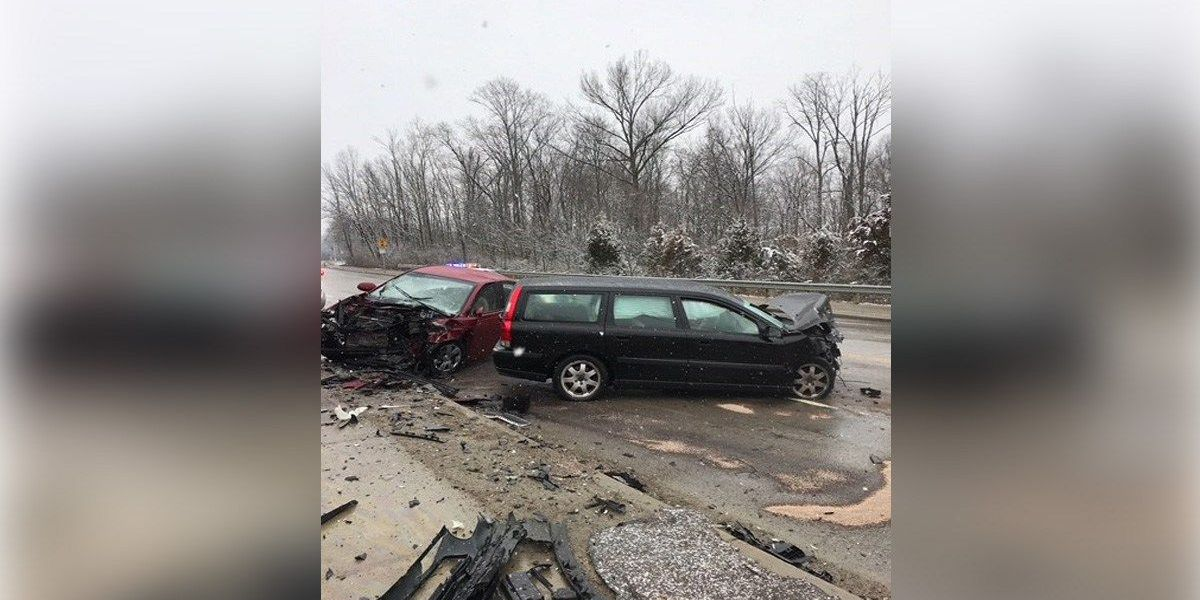 Slick roads cause several serious accidents around Tri-State