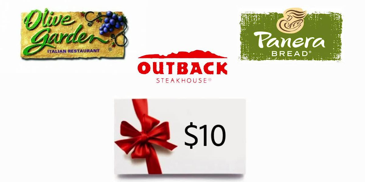 Restaurant chains offering holiday gift card deals