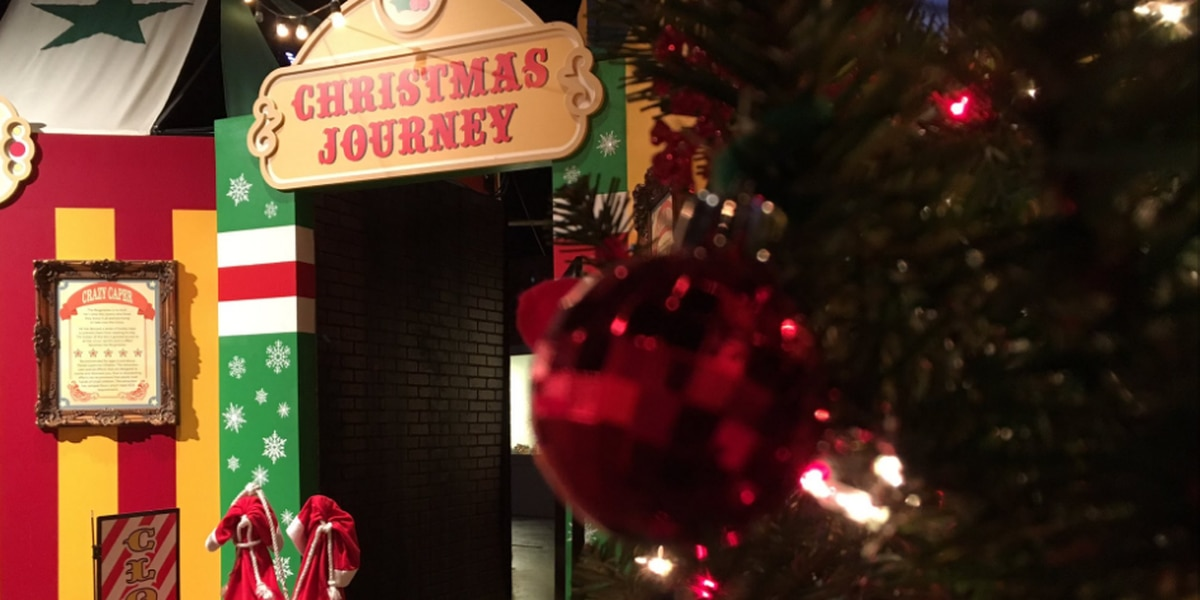 Christmas in July at EnterTRAINment Junction