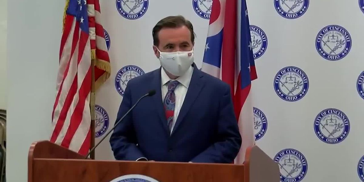 Mayor Cranley discusses possible mask ordinance
