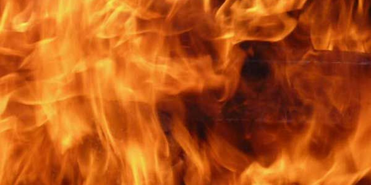 Man burned in camp stove explosion