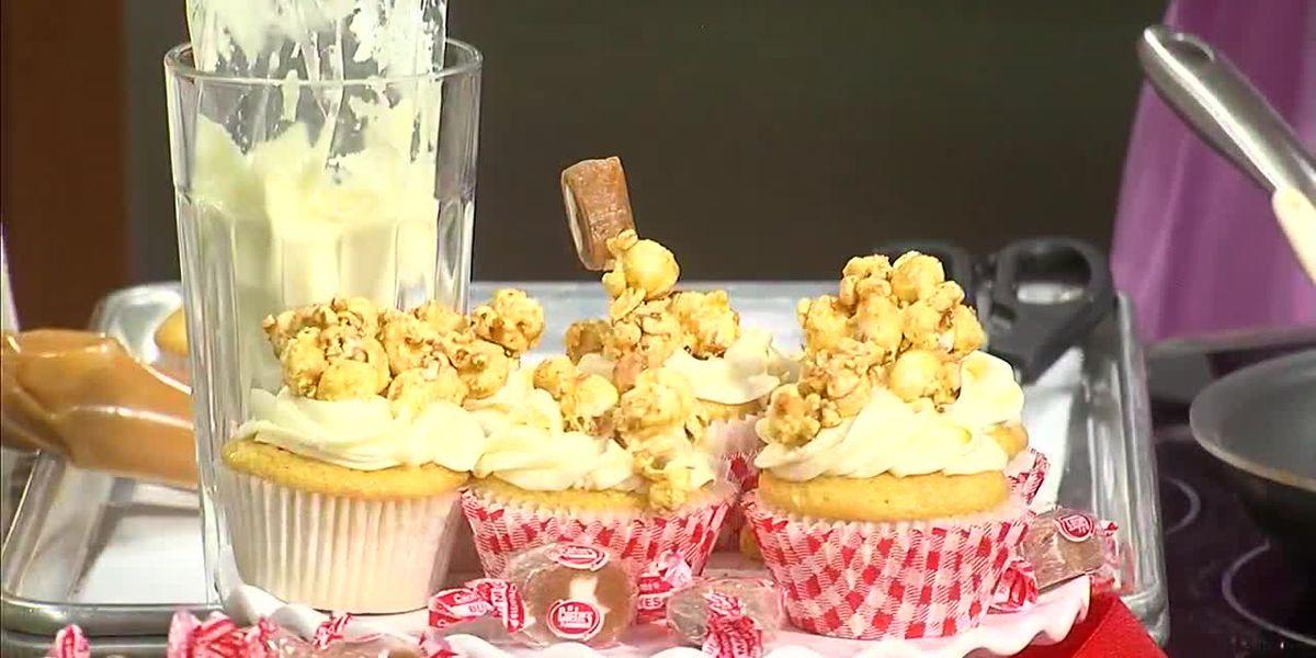 Caramel-Filled Cupcakes