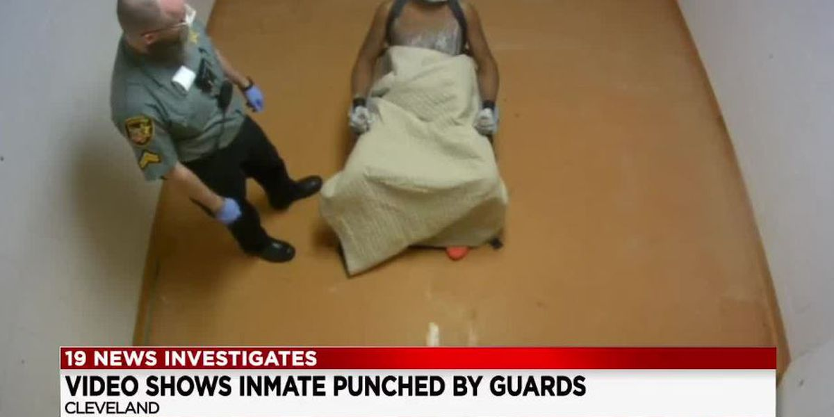 Inmate beating video released involving indicted Cuyahoga County Jail officers (graphic)