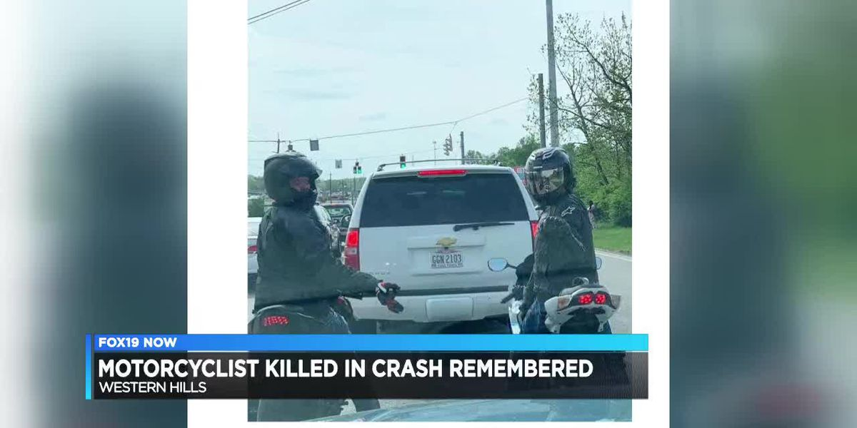 Motorcyclist killed in crash remembered
