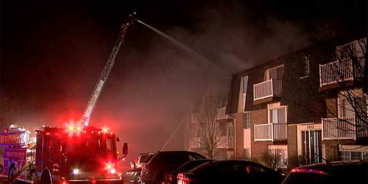 35 people displaced in Fairfield apartment fire