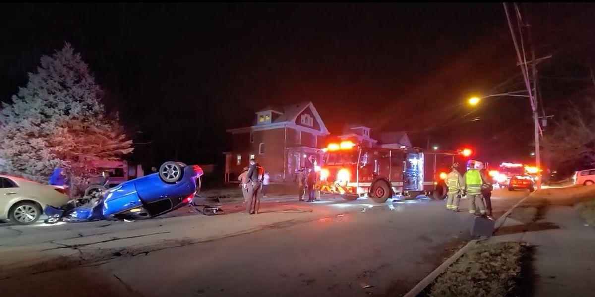At least 1 person injured in Cheviot crash, deputies say
