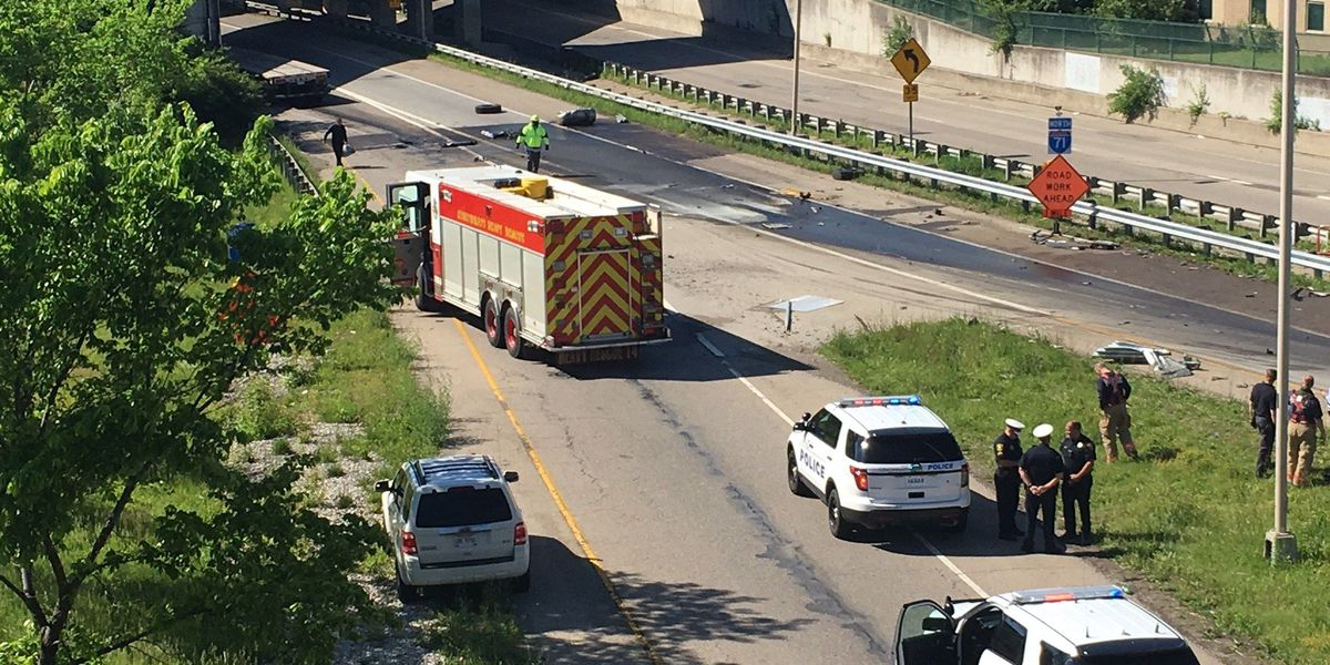 Roads reopen after truck crash ends in fuel spill
