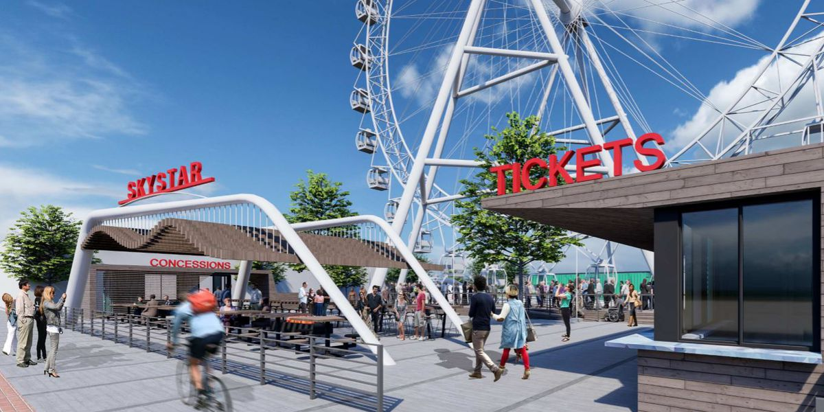 SkyStar Wheel leaving The Banks to make way for new 'giant' wheel
